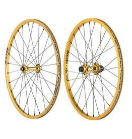 "Box Components Box Wheelset 20x1-1/8"" Gold"