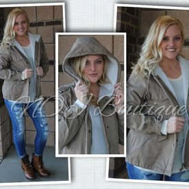 Fun Fur-Lined Jacket