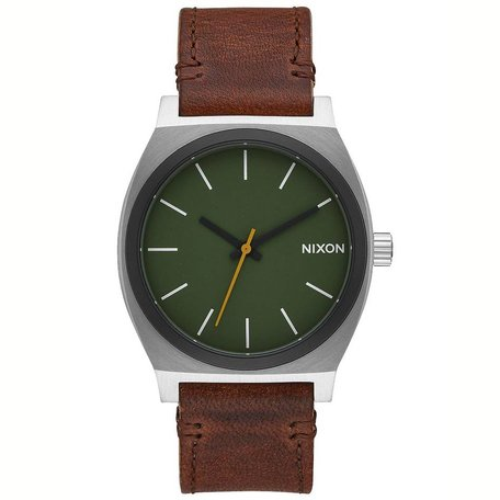 TIME TELLER WATCH SURPLUS/BROWN