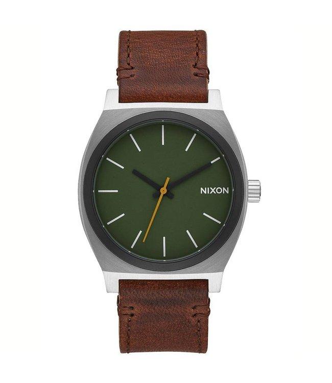 NIXON Time Teller Watch -Surplus/Brown