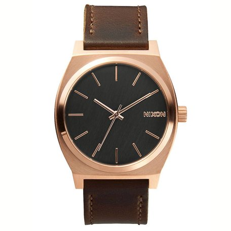 TIME TELLER WATCH ROSE GOLD/GUNMETAL