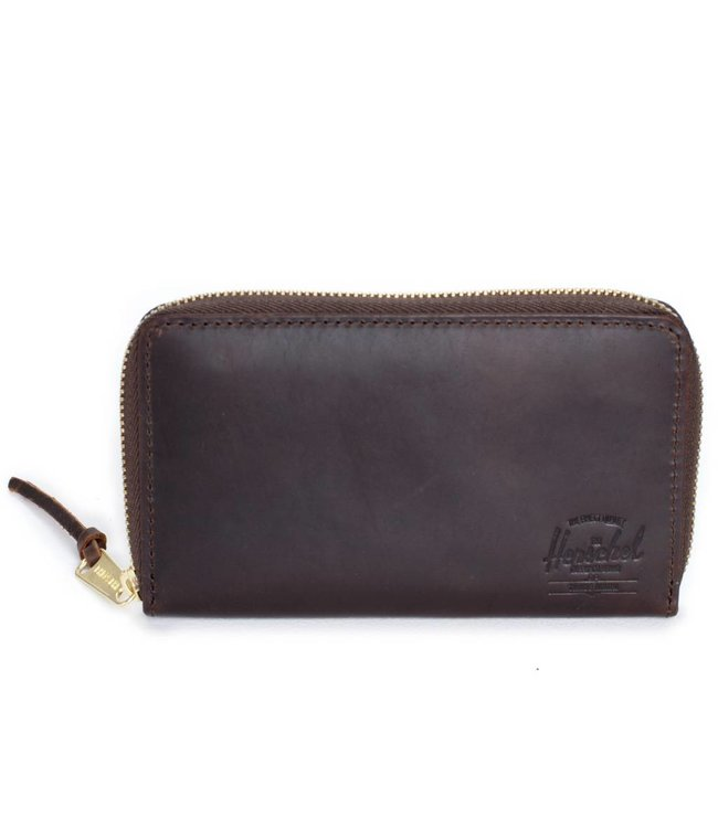 HERSCHEL SUPPLY CO. Thomas Leather Wallet - Nubuck