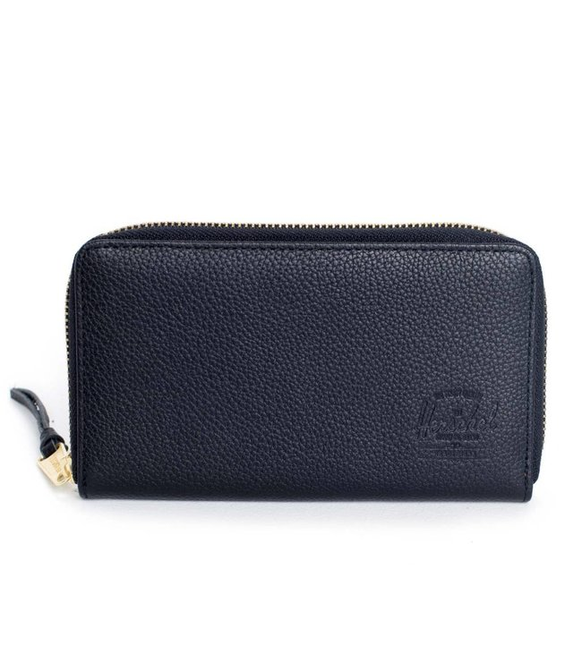 HERSCHEL SUPPLY CO. Thomas Leather Wallet - Black