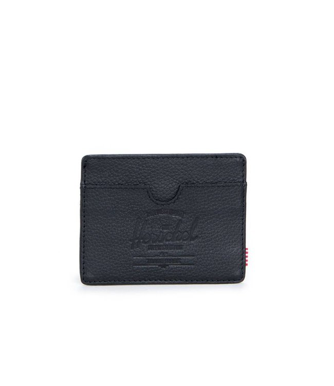 HERSCHEL SUPPLY CO. Charlie Leather Wallet - Black