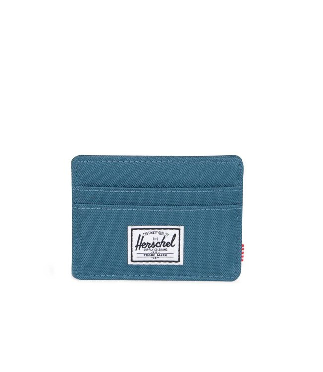 HERSCHEL SUPPLY CO. Charlie Wallet - Indian Teal