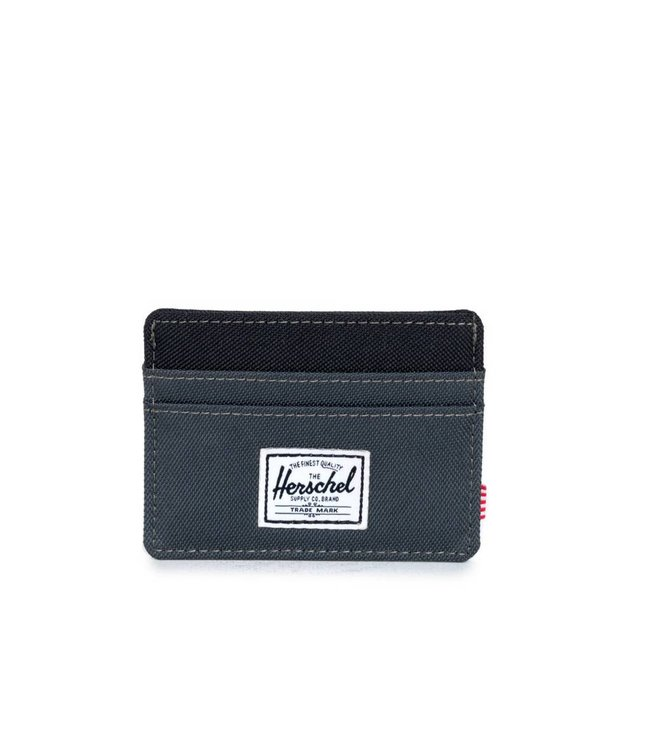 HERSCHEL SUPPLY CO. Charlie Wallet - Dark Shadow/Black