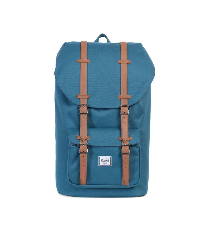 HERSCHEL SUPPLY CO. Little America Backpack - Indian Teal/Tan