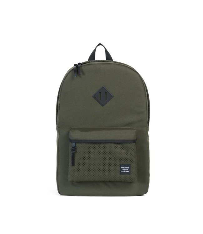 HERSCHEL SUPPLY CO. Heritage Backpack - Forest Night/Black Rubber