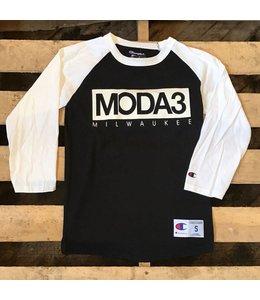 MODA3 BOX LOGO RAGLAN