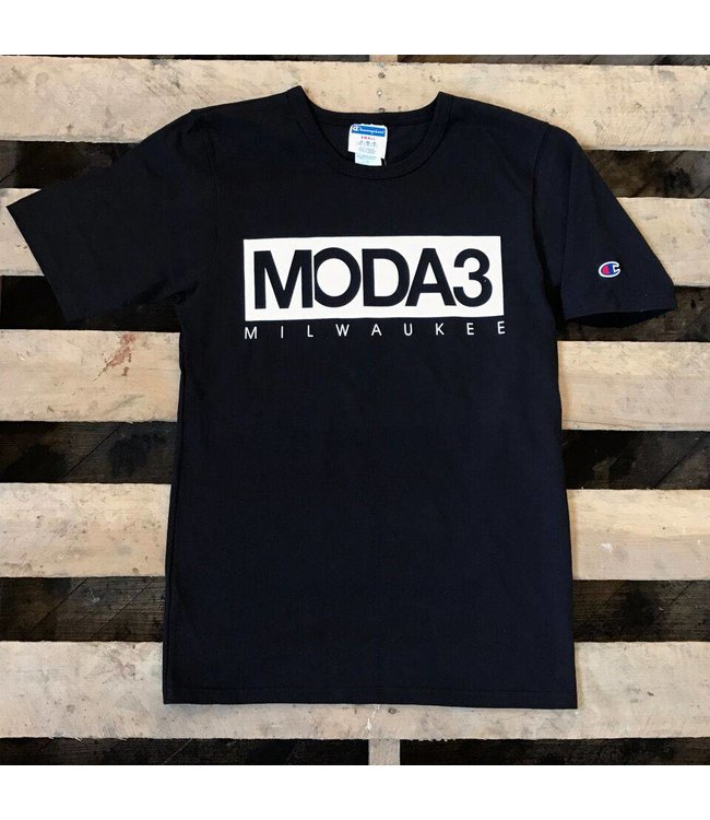 MODA3 BOX LOGO CHAMPION T-SHIRT