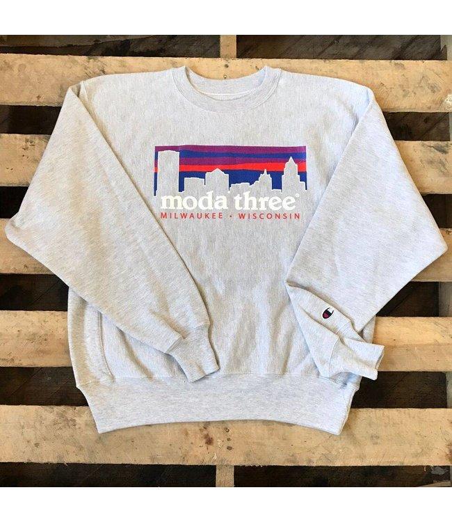 MODA3 City Logo Crewneck Sweatshirt