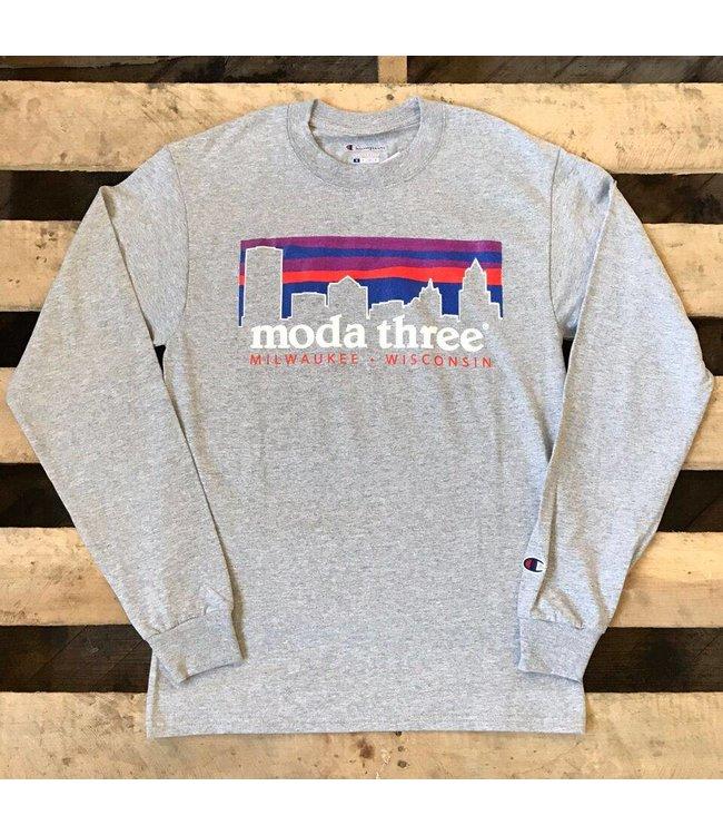 MODA3 City Logo Long Sleeve T-Shirt