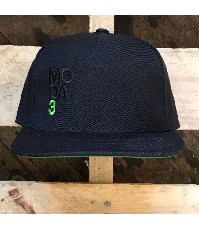 MODA3 Stacked Logo Snapback Hat