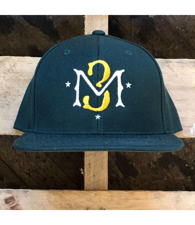 MODA3 M3 Logo Snapback Hat