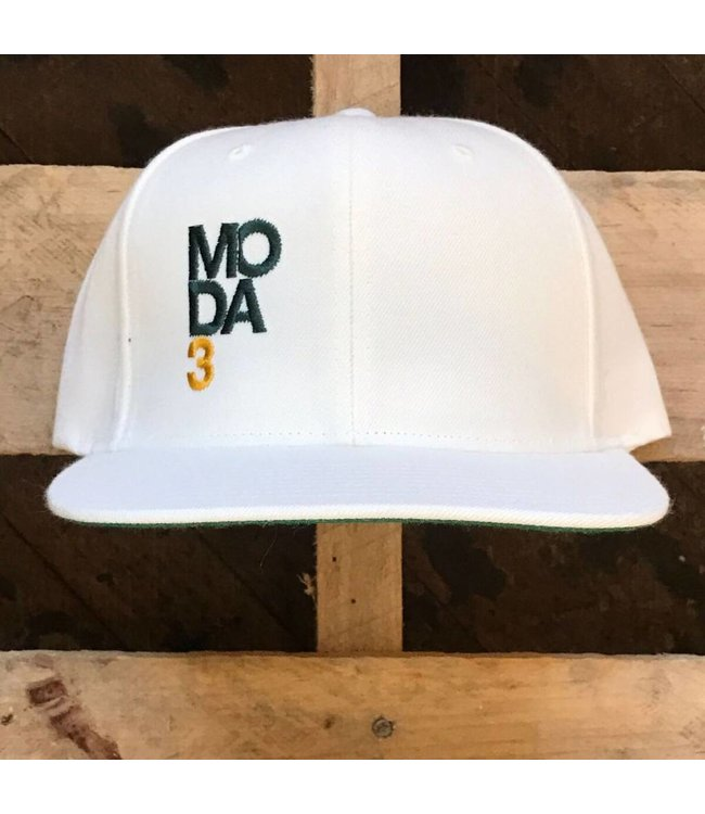 MODA3 Stacked Logo Snapback Hat