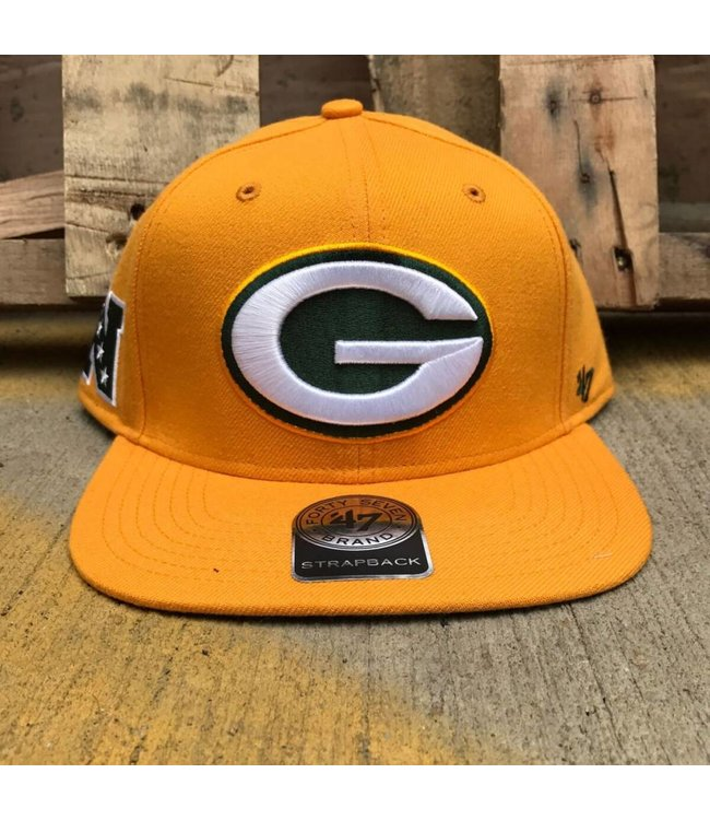'47 BRAND Packers Super Shot Snapback Hat