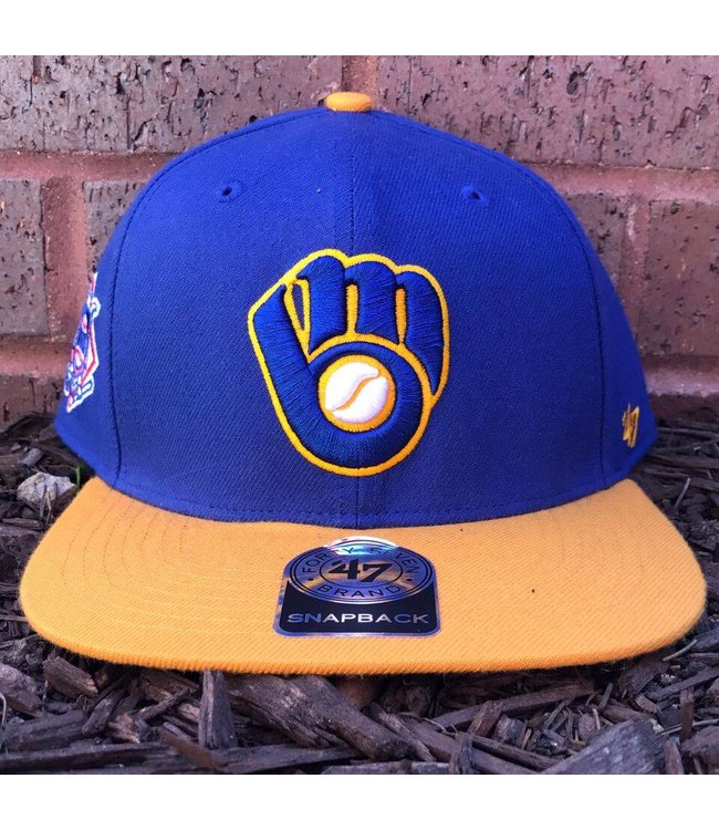 '47 BRAND Brewers Sure Shot 2-Tone Snapback Hat
