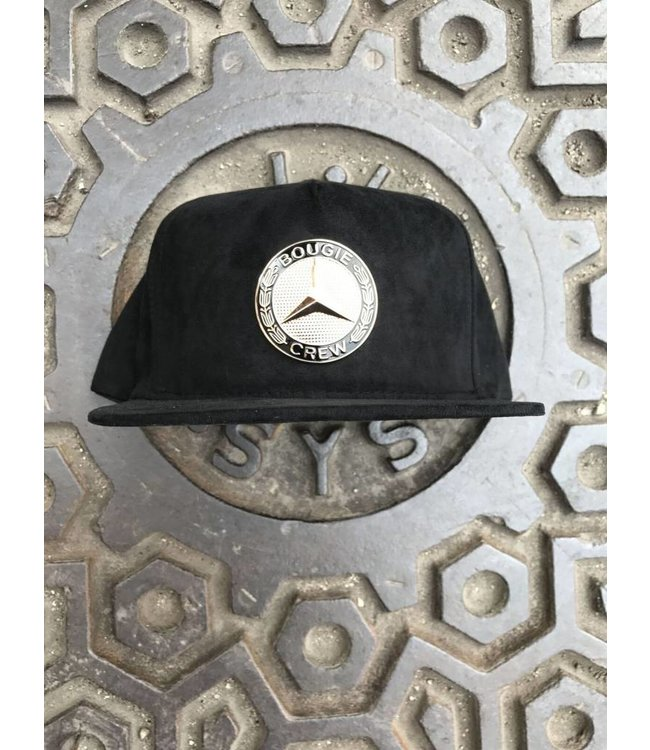 DOPE COUTURE Gold AMG Snapback Hat
