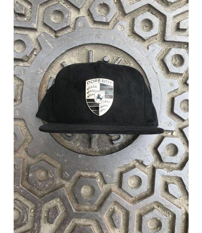 DOPE COUTURE Gold Stuttgart Snapback Hat