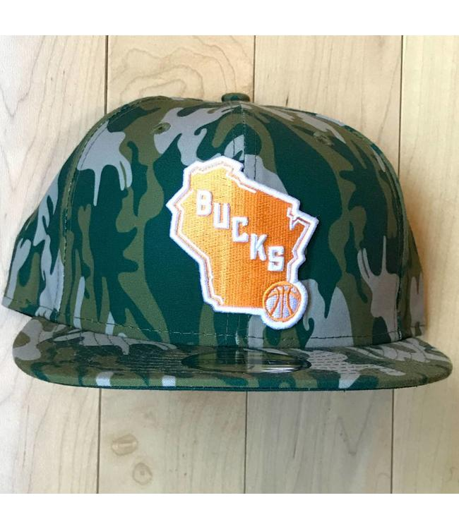 NEW ERA Camo Fitted Hat