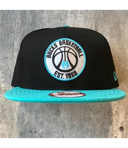 NEW ERA BLACK TEAL ESTABLISH