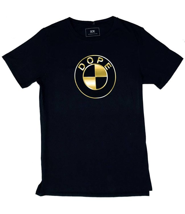 DOPE COUTURE Gold Ultimate T-Shirt - Black