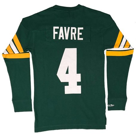 PACKERS NAME AND NUMBER