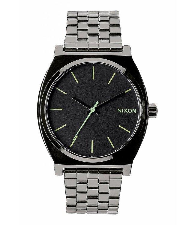 NIXON Time Teller Watch - Polished Gunmetal/Lum