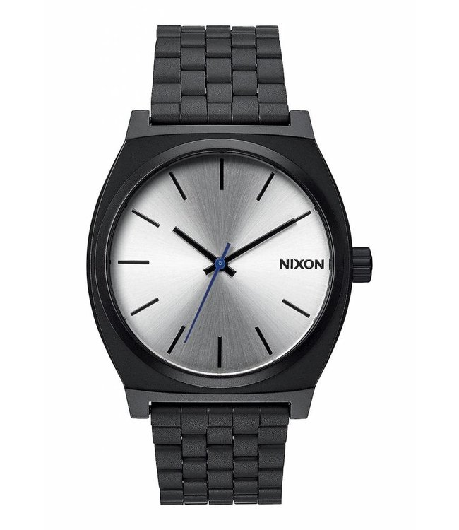 NIXON Time Teller Watch - Black/Silver