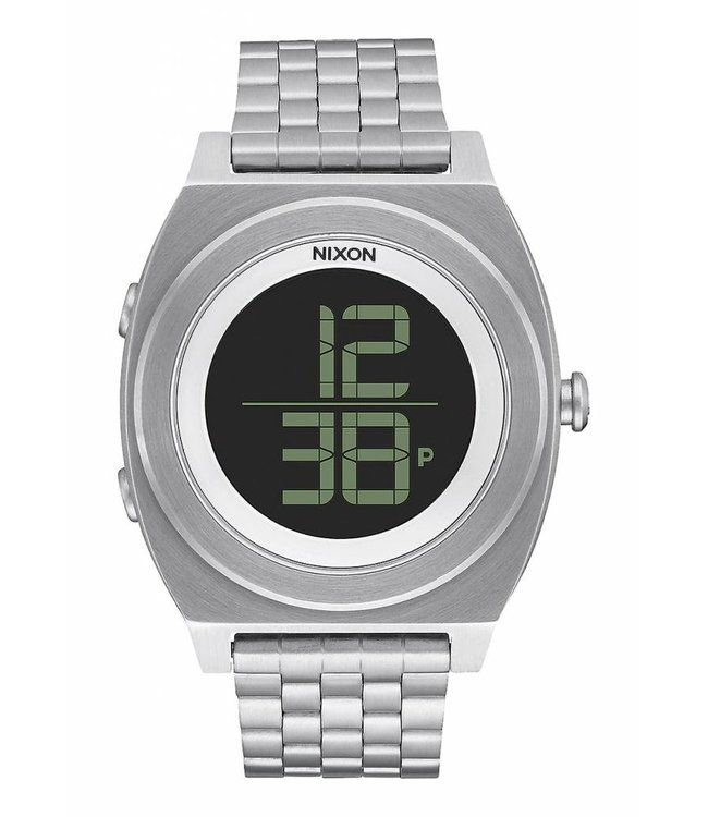 NIXON Time Teller Digi SS Watch - Black