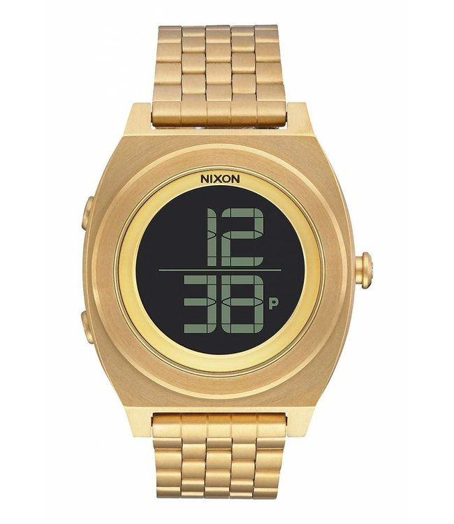 NIXON Time Teller Digi SS Watch - All Gold