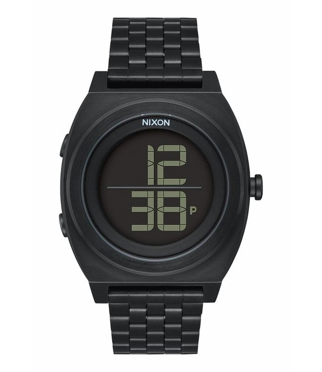 NIXON Time Teller Digi SS Watch - All Black