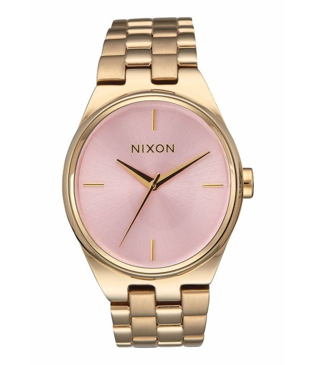 NIXON Idol Watch - Light Gold/Pink