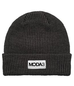 MODA3 BOX LOGO RIBBED BEANIE