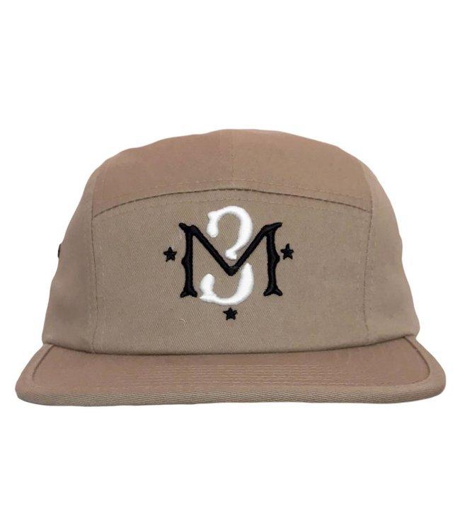 MODA3 M3 Logo 5-Panel Camp Hat