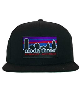 MODA3 CITY LOGO PATCH SNAPBACK