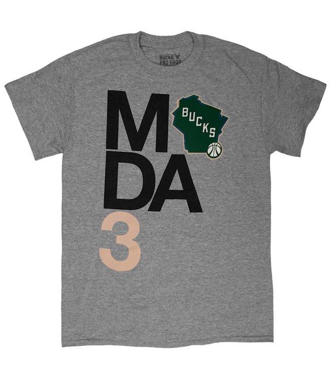 MODA3 x Bucks Stacked State Logo T-Shirt
