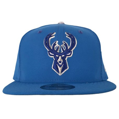 BLUE METALLIC SNAPBACK