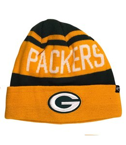 '47 BRAND GREEN BAY PACKERS RIFT CUFF BEANIE