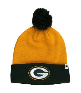 '47 BRAND GREEN BAY PACKERS BOUNDER CUFF BEANIE