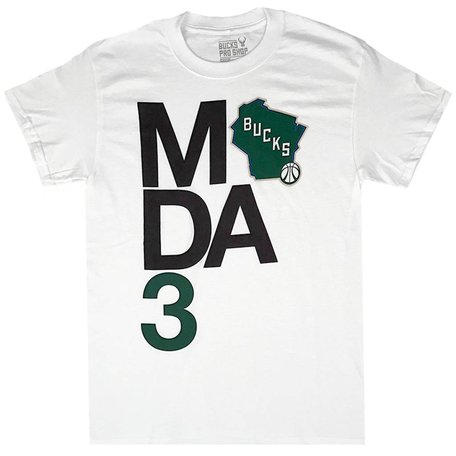 STACKED STATE LOGO TEE
