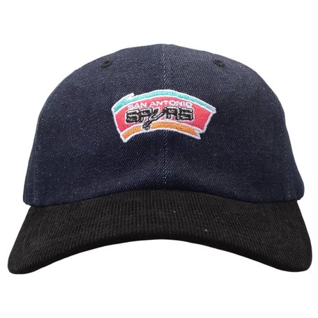 SPURS DENIM STRAPBACK