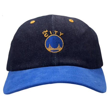 WARRIORS DENIM STRAPBACK
