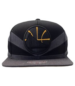 MITCHELL AND NESS WARRIORS BLACK SLASH