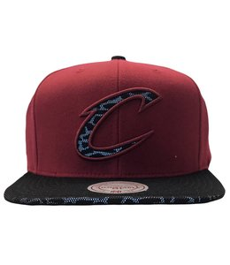 MITCHELL AND NESS CAVS CRACKED REFLECTIVE