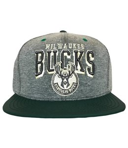 MITCHELL AND NESS BUCKS PU NUBUCK SNAPBACK