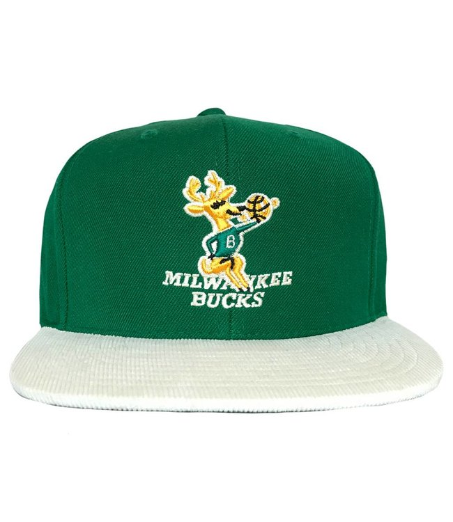 MITCHELL AND NESS Bucks HWC Replay Tonal Snapback Hat