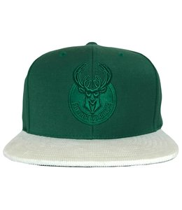 MITCHELL AND NESS BUCKS CURRENT REPLAY TONAL SNAPBACK