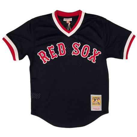TED WILLIAMS 1990 BP JERSEY