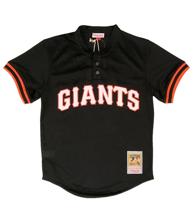 MITCHELL AND NESS Matt Williams 1995 Giants Authentic Batting Practice Jersey